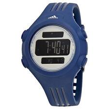Adidas Questra Mens Blue Silicone Sports Watch ADP3269