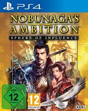 nobunagas ambition - Sphere of Influence PS4 Playstation 4