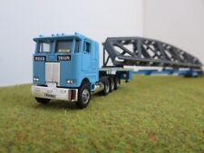 Herpa Telescopic Trailer Promotex Truck Kibri Heavy Haul Load HO 1/87