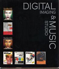 DIGITAL IMAGING & MUSIC STUDIO : PC CD-ROM -Big Box- windows 95/98