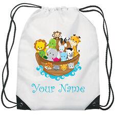 Personalizzata dell'Arca di Noè Borsa Palestra Pe Sport Danza Scuola impermeabile Swim Bag