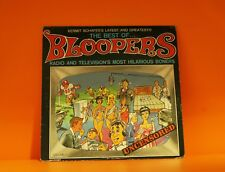 THE BEST OF BLOOPERS - RADIO AND TELEVISIONS HILARIOUS BONERS - COMEDY LP VINYL