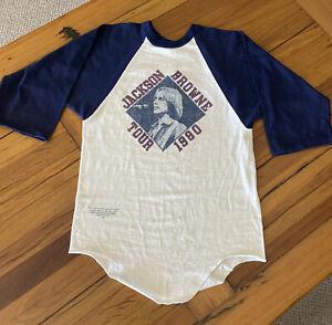 Original Jackson Browne 1980 Tour T Shirt - Size S