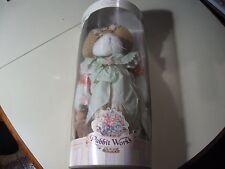 "16"" plush Rabbit Works: Miss Rose Rabbit doll, NEW RARE"