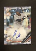 2019 Bowman Chrome Isiah Gilliam Prospect Auto Autograph Yankees