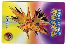 PROMO POKEMON JAPANESE DOUBLE SIDE CARD HOLO N° 1274 1276 ZAPDOS PIDGEOTTO