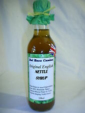 ACNE & SKIN Allergy relief with natural NETTLE  Syrup 330ml High Strength Syrup