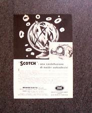 M347 - Advertising Pubblicità - 1960 - SCOTCH , COSTELLAZIONE DI NASTRI ADESIVI