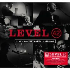Live from Metropolis Studios [DVD+CD] by Level 42 (DVD, Sep-2013, 2 Discs,...
