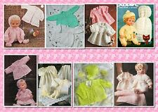 45+ Prem, Babies & Doll CROCHET & KNITTING PATTERNS ~ Great Little Collection