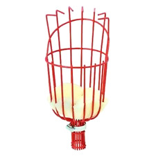 Fruit Picker Basket Tree Fruits Picking Harvesting Tool Gardening Supplies Metal