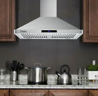 30 inch Wall Mount Range Hood 760 CFM Kitchen Stove Vent Touch Control LED Light photo