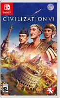 Sid Meier's Civilization VI Nintendo Switch Games Sealed Brand New
