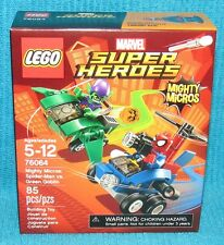 New Lego Marvel Mighty Micros Spider-Man vs Green Goblin 76064 Factory Sealed