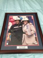 Joe Torre with Mayor Giuliani Framed Signed Picture with COA