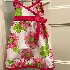 Girls lilybird sz 18 mo Spring/Summer/Easter Dress w/Ruffles white/pink w/floral
