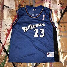 Vintage Champion Michael Jordan Washington Wizards Adult Size 40 Jersey