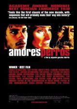 Amores Perros - Movie Poster - Vanessa Bauche, Emilio Echeverria, Gael Garcia