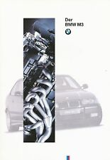 BMW m3 Coupè Cabrio prospetto 2/94 (D) brochure prospectus broschyr brosjyre