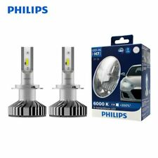 PHILIPS H7 LED Car Headlight 200% Brighter X-tremeUltinon Globe Bulbs Hi/Lo Beam