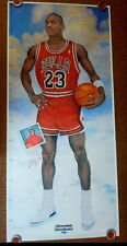 "Michael Jordan Life Size Chicagoland Chevy Dealers Growth Chart Poster (35""x76"")"