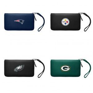 NFL Zip Organizer Wallet Wristlet, Choose Team Licensed
