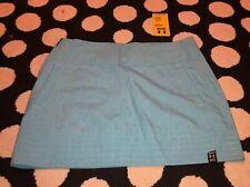Under Armour MTN Women US 6 Tennis Golf Skirt light turquoise blue new