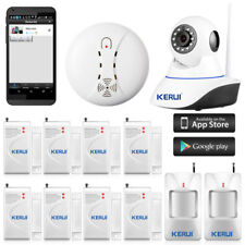 KERUI Wireless IP Camera WiFi Alarm System for Home House Burglar Security 720P