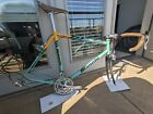 Bianchi Boron XL Steel Road Bike - Handmade in Italy - Campy - Chris King