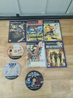 Sony Playstation 2 Games Bundle  8 games