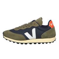 Veja - Rio Branco WMN Nautico / White / Orange Fluo Sneaker Schuhe