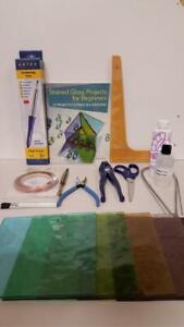 Stained Glass - Pro Copper Foil Kit With Glass - Ideal Gift