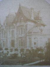 VUE STEREO PHOTO PARIS La Villa de l'Impératrice Ca1860  NIII