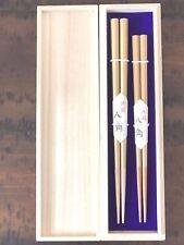 Japanese Gift Chopsticks set Gold Octagon made in Japan
