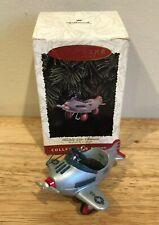 Hallmark Kiddie Car Classics Murray Airplane Christmas Tree Ornament In Box