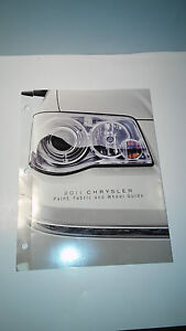 2011 Chrysler Paint, Fabric and Wheel Guide
