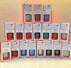 SALE!!!! CND Shellac Color Gel Nail Polish .25oz- NEW IN BOX- CHOOSE YOUR SHADE!
