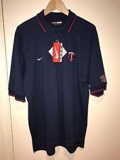 NIKE TEAM MLB Minnesota Twins Polo Shirt Medium NWT, Vintage Nike Golf 🔥