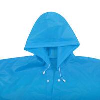 Men Women Unisex Raincoat Rain Jacket EVA Rain Coat Wind Waterproof Regular US