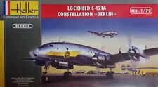"""LOCKHEED C-121 A CONSTELATION """"BERLIN"""" (USAF MATS MARKINGS) 1/72 HELLER RARE"""