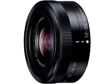 Nuevo Panasonic Lumix G Vario 12-32 mm F/3.5-5.6 Lente Negro En Whitebox O.I.S ED