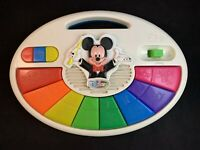 Vintage Disney Mattel Mickey Mouse Lighted Music Piano
