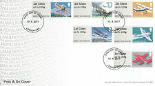 (57216) GB FDC Post and Go Mail by Air London NW4 2017