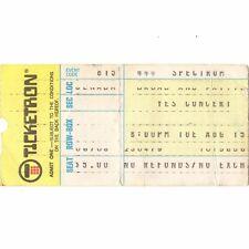 The Eagles & Yes & Jo Jo Gunne Concert Ticket Stub Philadelphia 8/15/72 Spectrum