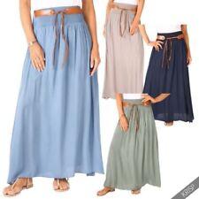 Cotton Maxi Skirts for Women