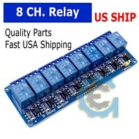 5v Eight 8 Channel DC 5V Relay Switch Module for Arduino Raspberry Pi ARM AVR