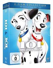 101 DALMATINER 1-2 FILM COLLECTION TEIL 1 & 2 DVD BOX DISNEY CLASSICS DEUTSCH