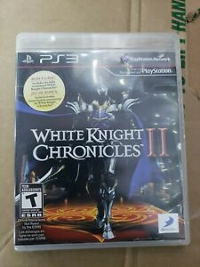 White Knight Chronicles II 2 PS3 Playstation 3 Game Case Manual