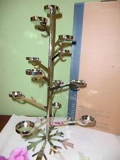 """Partylite Teelichtbaum """" Funkelnde Schneeflocke """" P91948 NEU / OVP"""