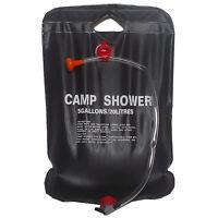 Solardusche Camping-Dusche Bag 20 Liter Schwarz I6D6 J6L0 N4T6